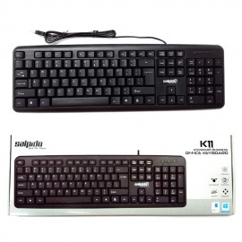 image of Official Salpido K11 Standard Business Office  Usb Keyboard (Black)