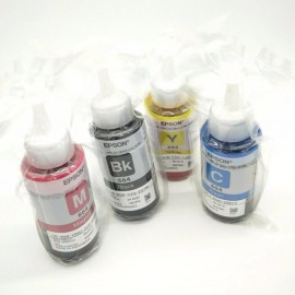 image of 100% Original Epson T664 Refill Ink Bottle 70 ml Set Of 4