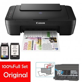 image of Official Canon Pixma E410 Print,Scan & Copy Aio Inkjet Printer