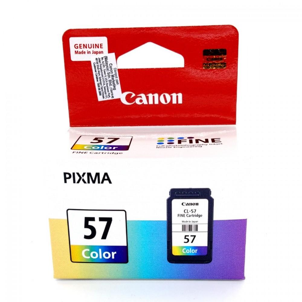 Official Canon CL-57 Ink Cartridge 13ml for Pixma E400/E410/E460/E470/E480