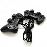 Official Zee-Cool Doubles Vibration Twin USB Games Controller For Laptop / PC