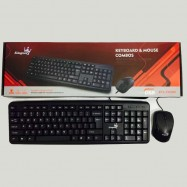 image of KIngses KTL-PX502 Combos Sst Usb Keyboard & Mouse Water-poof Design,the drainage