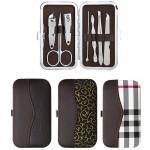7pcs/set Case Nail Clipper Cutters Kit Nail Care Tools Set