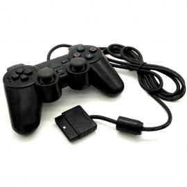 image of Dual Shock II Controller for Playsation 2 / PS1 / PS2