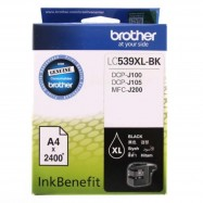 image of Brother LC-539XL Black Ink Cartridge For DCP-J100 / DCP-J105 / MFC-J200