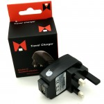Travel charger 1 Port Usb 5V / 1A Double ic Double Protection