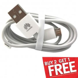 image of Huawei Mobile Phone Charger Micro USB Cable 1A Without Packing Box (T9-6)