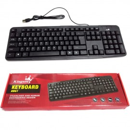image of Kingses KB61 Steamlined and Human Engineering Design Usb Keyboard
