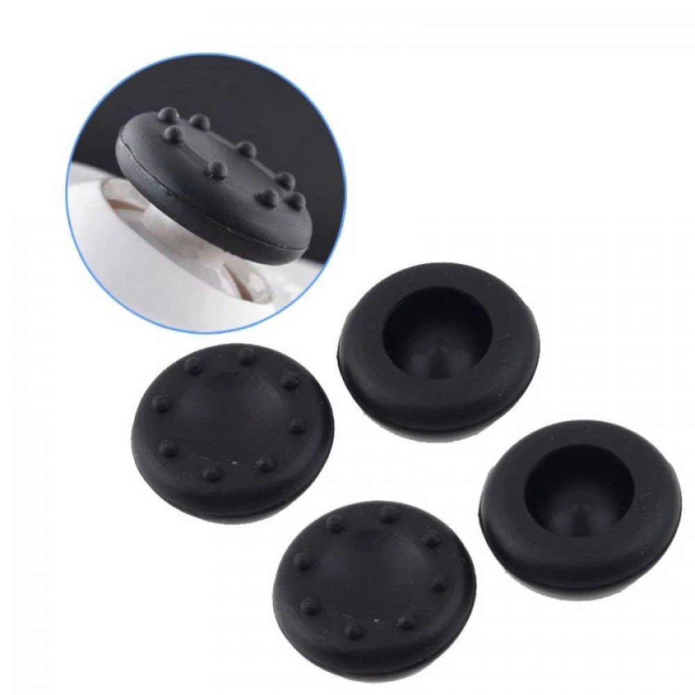 4Pcs Silicone Analog Grips Thumb stick handle caps Cover For PS4 PS3 PS2 Xbox