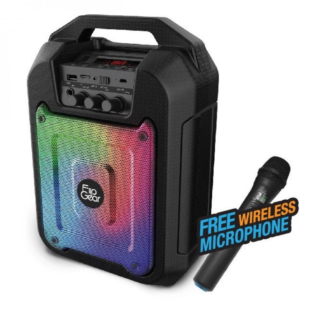 Official Tango 202 FlipGear Portable Speaker Wireless Mic