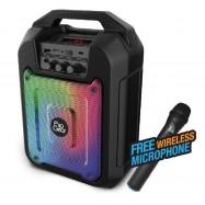 image of Official Tango 202 FlipGear Portable Speaker Wireless Mic Karaoke BT, Voice REC