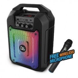 image of Official Tango 202 FlipGear Portable Speaker Wireless Mic Karaoke BT, Voice REC
