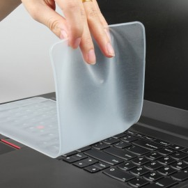 "image of 14"" Universal Laptop Silicone Keyboard Skin Cover Protector for Laptop Keyboard"