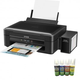 image of Epson L360 (Print/Scan/Copy) Tank System Printer with MaxPrint Ink Refil 100Ml