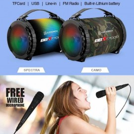 image of Official Audiobox BBX T7000 Multicolour LED FX Bluetooth Portable Speaker
