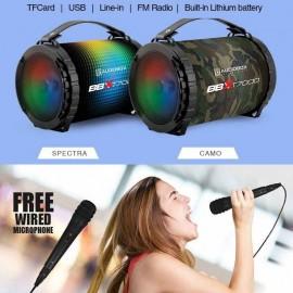 image of Official Audiobox BBX T7000 Multicolour LED FX Bluetooth Portable Speaker