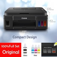 image of Official Canon Pixma G2010 New All-In-One InkJet Printer With 4Pcs Original Ink