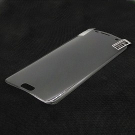 image of Samsung Galaxy S7 Edge Plastic Clear Full Screen Protector
