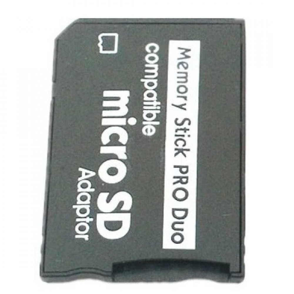 Micro SD to Memory Stick MS Pro Duo PSP/Camera Card Adapter Converter (T12-9)
