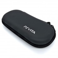 image of Black Anti-shock Hard Case Bag For PS Vita / PSP 3000 / 2000 / 1000 console