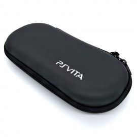 image of Black Anti-shock Hard Case Bag For PS Vita / PSP 3000 / 2000 / 1000 console