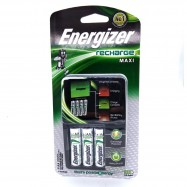 image of Official Energizer CHVCM4 Recharge MAXI & Includes 4x AA Rechargeable Batteries