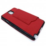 Samsung Galaxy Note 3 Leather Flip Cover Case
