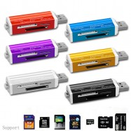 image of USB Flash Memory All In 1 Multi-Function Card USD Reader Writer Micro SD M2