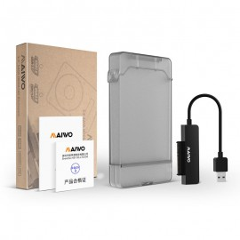 image of Maiwo K104 2.5 inch USB 3.0 Hard Drive Enclosure Support SSD Speed up to 5Gbps