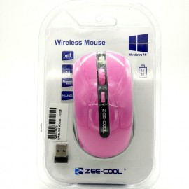 image of Zee-Cool Zc-228 Elegant Design For Comfort Use 2.4Ghz Wireless Optical Mouse