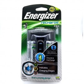 image of Official Energizer CHPRO Recharge Pro & Includes 4x AA Rechargeable Batteries
