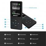 RuiZu X02 1.8 Inch TFT Screen HiFi 4GB /8GB Mp3 Player FM Recorder Alarm Clock