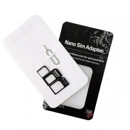 image of Nano SIM Card Adapter Micro SIM Card Adapter Standard SIM Card Adapter