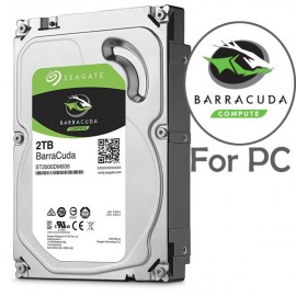 image of Official 2TB Seagate BarraCuda 3.5' 64MB Cache SATA 3.5-Inch Internal Hard Drive
