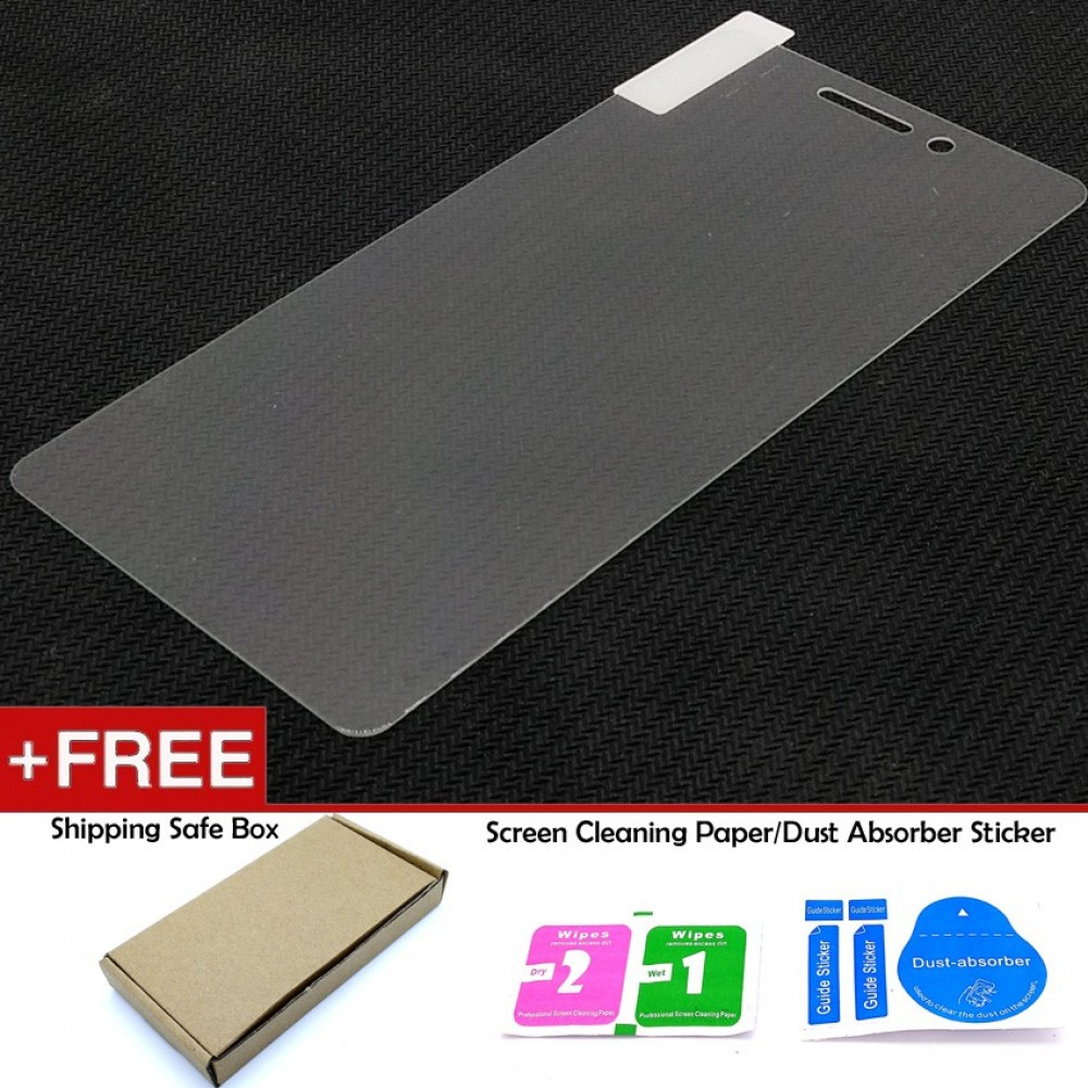Xiaomi Redmi 3 Pro / 3s Leather Flip Cover Case Tempered Glass Screen Protector