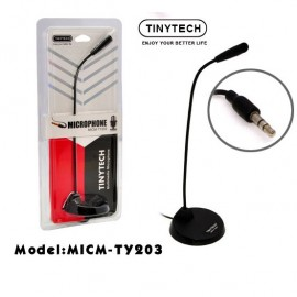 image of Tinytech 3.5mm Microphone Model:micm-ty203 For Pc Desktop / Laptop