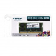 image of Official Kingmax 4GB DDR3 1333Mhz 16 Chips Notebook Memory SO-DIMM Ram (T11-5-1)