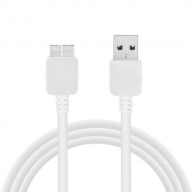 image of Data Trasfer & Fast Charging Mirco USB 3.0 Cable For Samsung Galaxy Note 3/S5