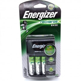 image of Official Energizer CHVC4 Recharge Base & Includes 4x AA Rechargeable Batteries