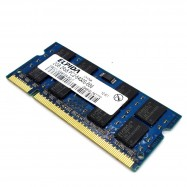 image of 100% working Elpida 2GB DDR2 800Mhz Laptop SODIMM RAM Without Packing Box(T11-4)
