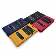 image of Samsung Galaxy Trend Duos / Trend Plus / S Duos S7562 Leather Flip Cover Case