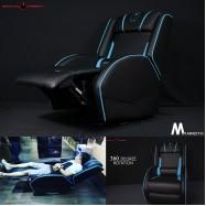 image of Gaming Freak GF-GCBG30 Mammoth Gaming Sofa Pu Leather