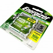 image of Official Energizer Rechargeable Batteries AAHR6 AA 4 PACK 2000mAh