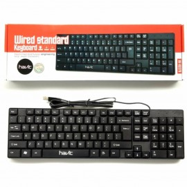 image of Havit Wired Standard Usb Keyboard (model: HV-KB379)