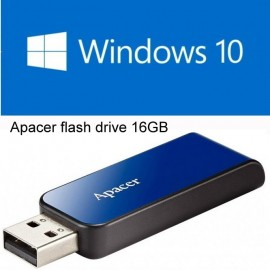 image of UEFI Bootable USB 16GB USB Flash Drive With Windows 10 64Bit Single Language Eng