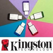 image of Official Kingston DataTraveler 50 - USB 3.1 Gen 1 (USB 3.0)- 8GB/16/32/64/128GB
