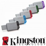 Official Kingston DataTraveler 50 - USB 3.1 Gen 1 (USB 3.0)- 8GB/16/32/64/128GB