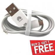 image of Huawei Mobile Phone Charger Micro USB Cable 1A Without Packing Box (T9-4 & 6)
