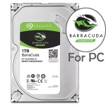 Official Seagate 1TB BarraCuda 64MB Cache SATA 3.5-Inch Internal Hard Drive