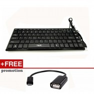 image of Havit HV-KB329 Super Slim USB Mini Keyboard